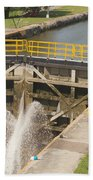 Erie Canal Lock Bath Towel
