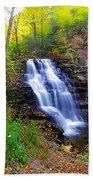 Erie Falls Vertical Panoramic Bath Towel