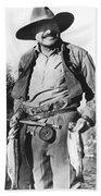 Ernest Hemingway Fishing Bath Towel