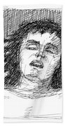 Erotic-drawings-24 Bath Towel