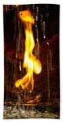 Eternal Flame  Bath Towel