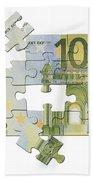 Euro Puzzle Bath Towel