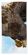 European Flying Sea Eagle 2 Bath Towel