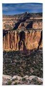 Evening At Colorado National Monument Bath Towel