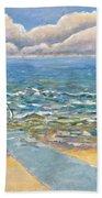 Evening North Myrtle Beach Hand Towel