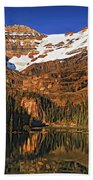 Evening On The Great Divide Painted Bath Towel