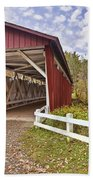 Everett Covered Bridge Bath Towel