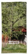 Everett Road Covered Bridge Bath Towel
