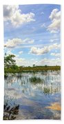 Everglades Landscape 8 Bath Towel