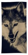 Evil Wolf Hand Towel