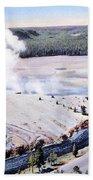 Excelsior Geyser, Yellowstone Np, 20th Bath Towel