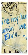 Excerpts From The Wall Memphis Bath Towel