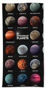 Exoplanets Bath Towel