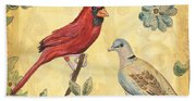 Exotic Bird Floral And Vine 2 Hand Towel