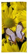 Exotic Butterfly Bath Towel