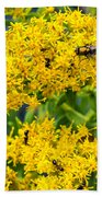 Exploring Goldenrod 5 Bath Towel