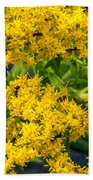 Exploring Goldenrod 6 Bath Towel