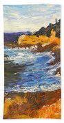 Exploring On The Rocks  Hand Towel