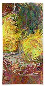 Expressionist 2 Messy Pears Bath Towel