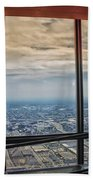 Eyes Down From The 103rd Floor Looking South Bath Towel