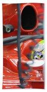 F1 Driver Felipe Massa Bath Towel