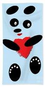 Fading Like A Flower. Panda In Love. 02 Bath Towel