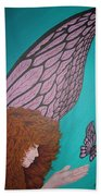 Faerie And Butterfly Bath Towel