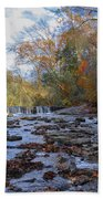 Fairmount Park - Wissahickon Creek In Autumn Bath Towel