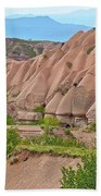 Fairy Chimneys In The Making In Cappadocia-turkey Bath Towel