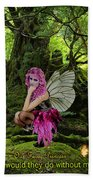 Fairy Princess Bath Towel