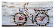 Fairy Tale Bike Flying Machine Bath Towel