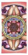 Faith Mandala Bath Towel