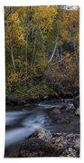 Fall At Bishop Creek Bath Towel