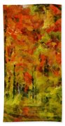 Fall Colors In Ohio Bath Towel