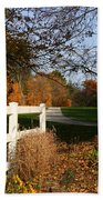 Fall Comes To The Hollow Bath Towel