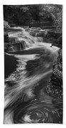 Fall Creek Flow II Bath Towel