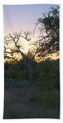 Cedar Park Texas Fall Creek Sunset Bath Towel