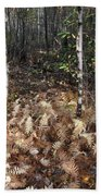 Fall Ferns Bath Towel