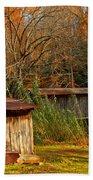 Fall Foliage At Meems Bottom Bridge Bath Towel