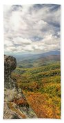 Fall From The Blowing Rock Bath Towel