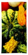 Fall Gourds Hand Towel