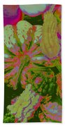 Fall Gourds Pinked Hand Towel
