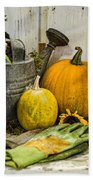 Fall Harvest Bath Towel