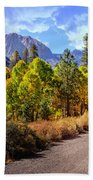 Fall Hiking In The High Sierras Bath Towel