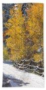Fall Into Beartrap Meadow - Casper Mountain - Casper Wyoming Bath Towel