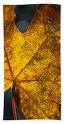 Fall Leaf Bath Towel