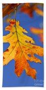 Fall Oak Leaf Bath Towel