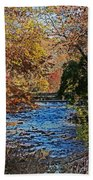 Fall Stream Bath Towel