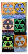 Fallout Shelter Mosaic Bath Towel
