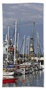 Falmouth Harbour And Docks Bath Towel
